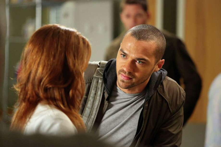 "Dr. Jackson Avery, right, is played by Jesse Williams in ""Grey's Anatomy.""  Photo: Richard Cartwright, Getty Images / 2013 American Broadcasting Companies, Inc."