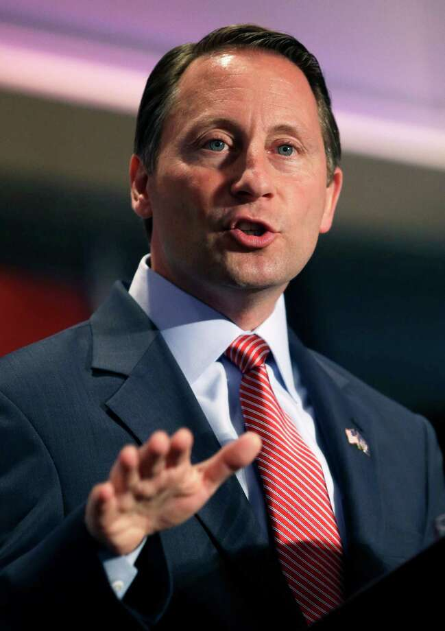 Republican nominee for governor Rob Astorino speaks during the New York State Republican Convention in Rye Brook, N.Y., Thursday, May 15, 2014. Republicans wrapped up their state party convention Thursday in Westchester County after nominating Astorino and other candidates for statewide office.  (AP Photo/Seth Wenig) ORG XMIT: NYSW113 Photo: Seth Wenig / AP