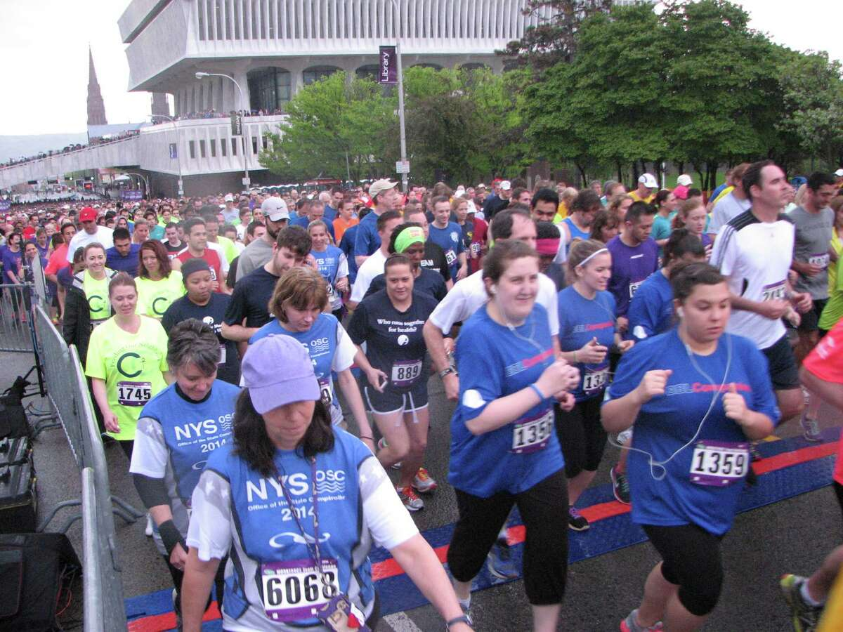 Were you Seen running the 35th Annual CDPHP Workforce Team Challenge road race in Albany on Thursday, May 15, 2014?
