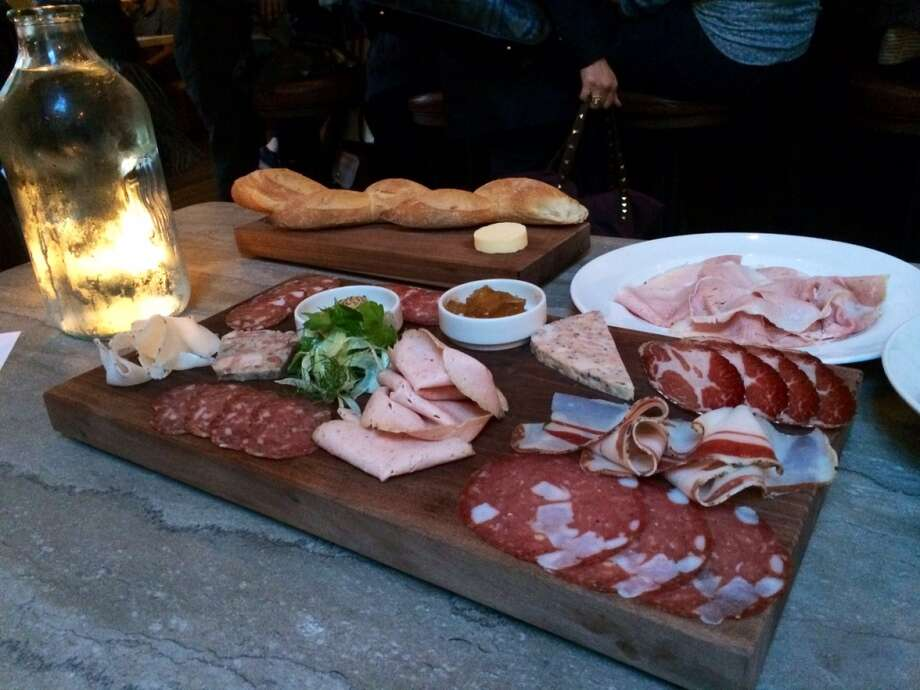 Trou Normand: The chef's charcuterie platter ($38)