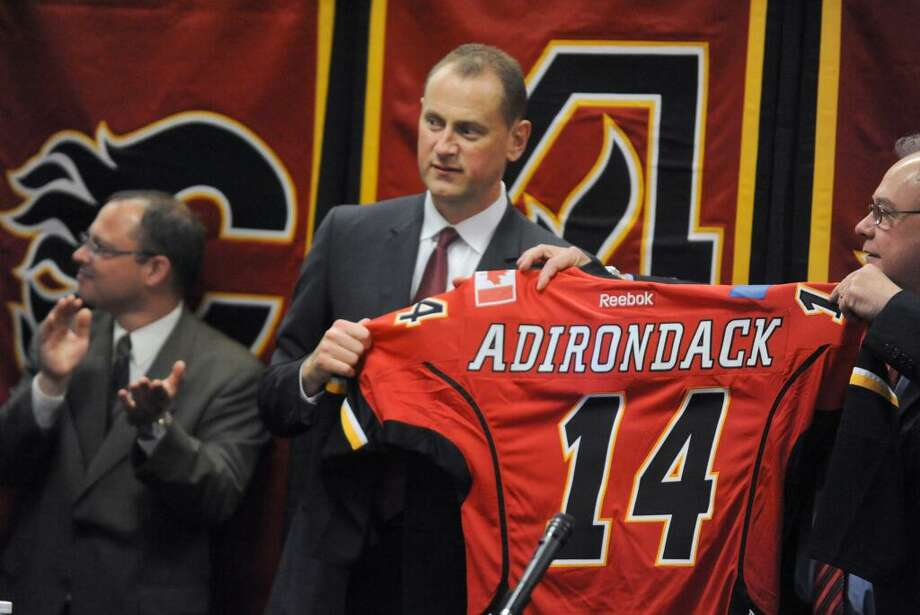 There's a new flame in town as Glens Falls gets an AHL team from the Calgary Flames. (Michael P. Farrell/Times Union)