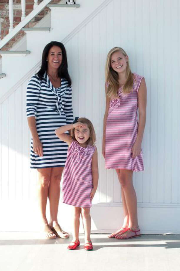 Just Madras, the maker of clothing for women, children and men, has moved its small headquarters operation from Wilton to Fairfield. Above are three examples of the company's summer dresses. Photo: Fairfield Citizen/Contributed / Fairfield Citizen