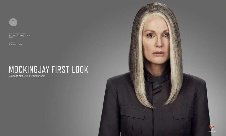 Julianne Moore as President Coin. Photo: Lionsgate