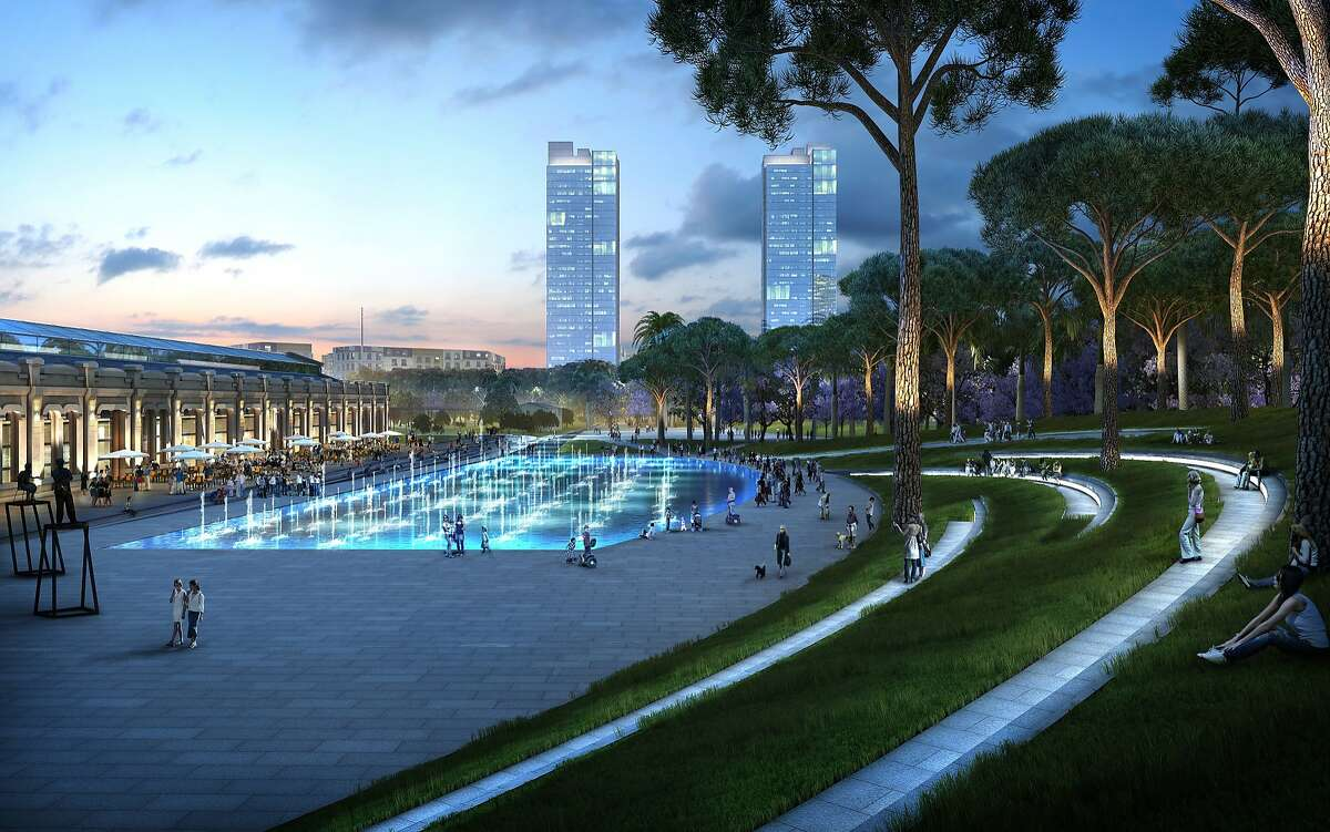 The design by Kathryn Gustafson for Valencia Parque Central in that Spanish city is part of a larger effort to transform a former rail yard into a new residential district with a distinctive central park where six neighborhoods meet.