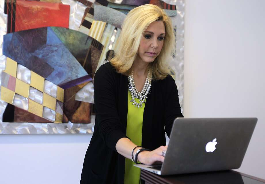 "Foxwordy CEO Monica Zent says she started the social networking site for attorneys because standard forms of communication like e-mail, trade shows, conferences and newsletters are ""antiquated."" Photo: Paul Chinn, The Chronicle"