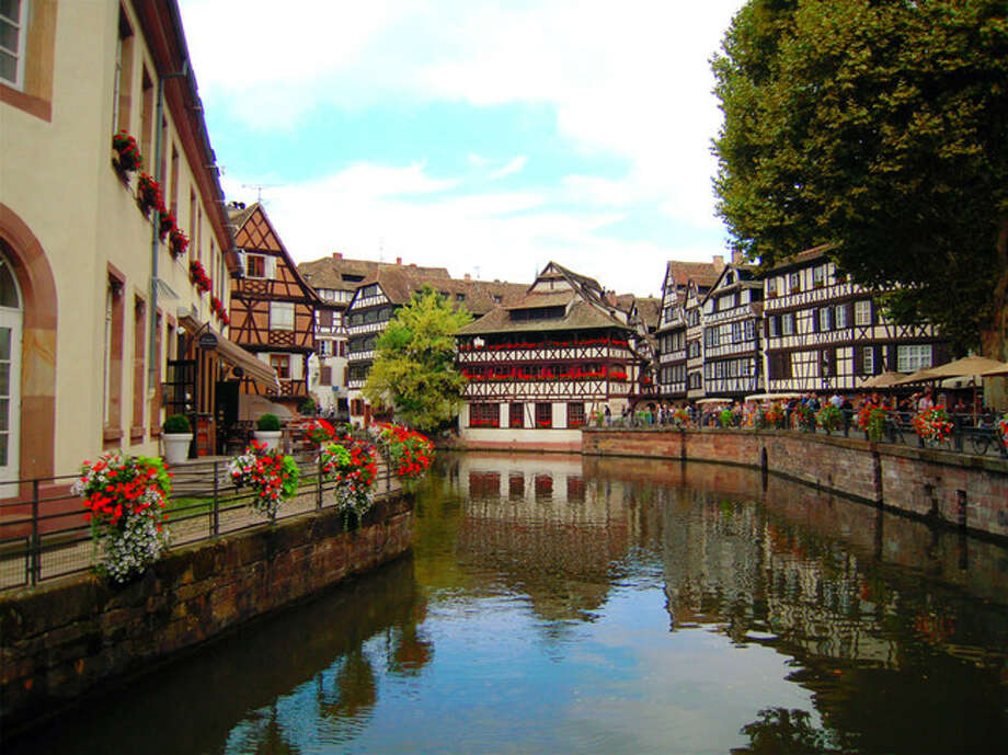 La petite France (Strasbourg, France) La petite France for me is the cutest area in Strasbourg. Really enjoy the historical atmosphere here. Just walking around, watching people while having a cup of coffee, taking some pictures and a boat tour to see those timbered house. C'est la vie! Photo: Holly Chiu, AFAR.com
