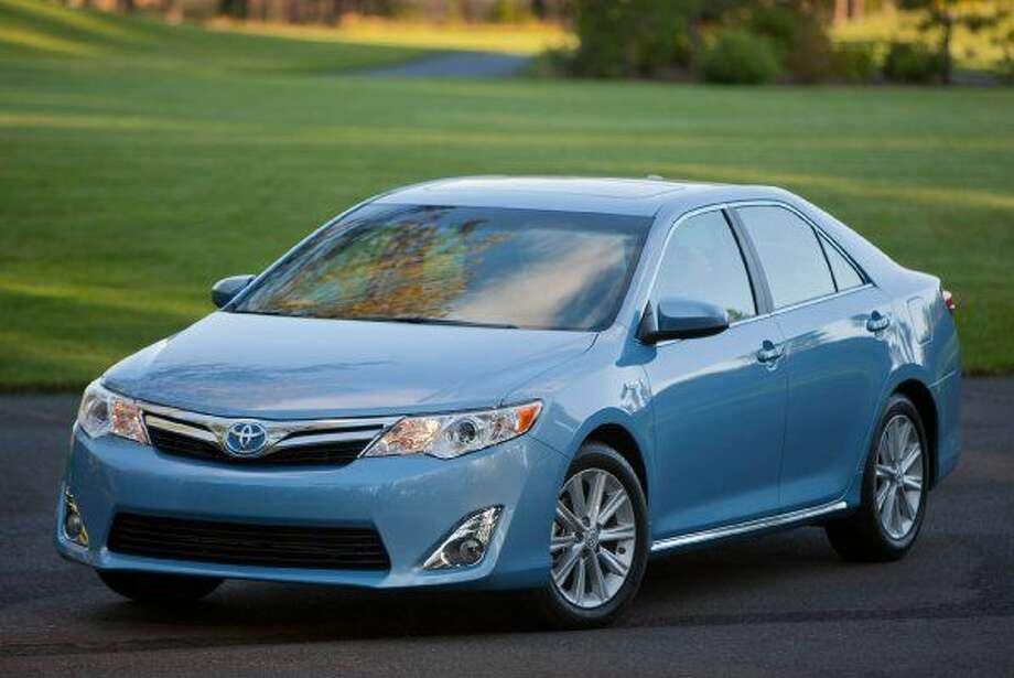 3. Toyota CamrySource:LoJack Photo: Courtesy Of Toyota