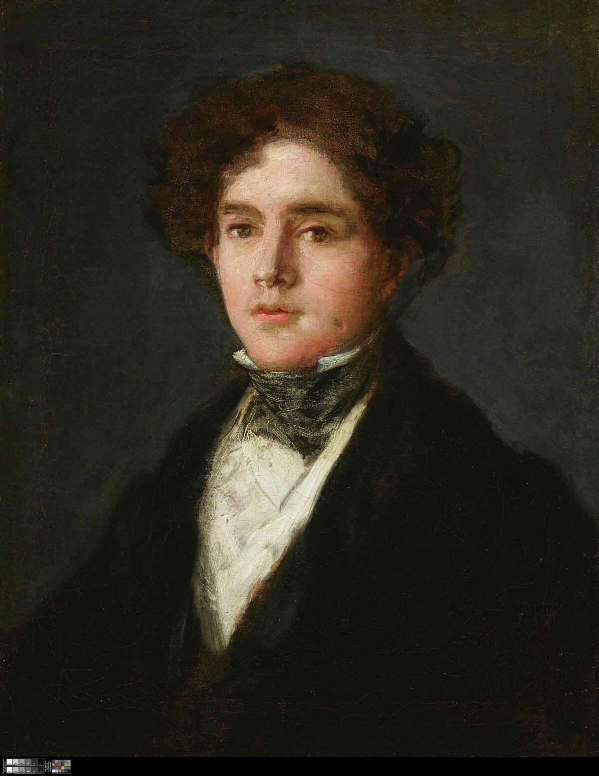 """The Meadows Museum acquired """"Portrait of Mariano Goya, the Artist's Grandson,"""" by Francisco José de Goya y Lucientes, last fall."""