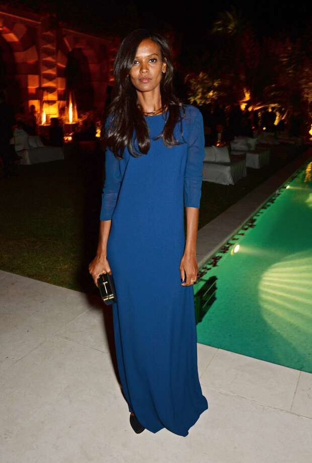 Liya Kebede attends the IFP, Calvin Klein Collection & euphoria Calvin Klein celebration of Women In Film on May 15, 2014 in Cannes, France. Photo: David M. Benett, Getty Images
