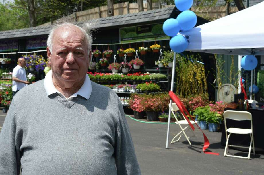 Frank Geiger, president and patriarch of Geiger's Home & Garden, hopes to turn his new location in New Canaan into a place for people to find respite, as well as their landscaping needs. Jarret Liotta/For the New Canaan News Photo: Contributed Photo, Contributed / New Canaan News Contributed