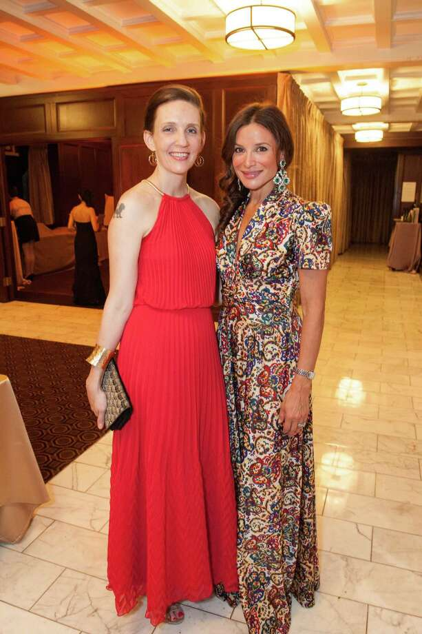 Mandy Heier and Claudia Ross at the Raphael House One Upon a Time Gala on May 2, 2014. Photo: Drew Altizer Photography/SFWIRE, Drew Altizer Photography / ©2014 by Drew Altizer, all rights reserved