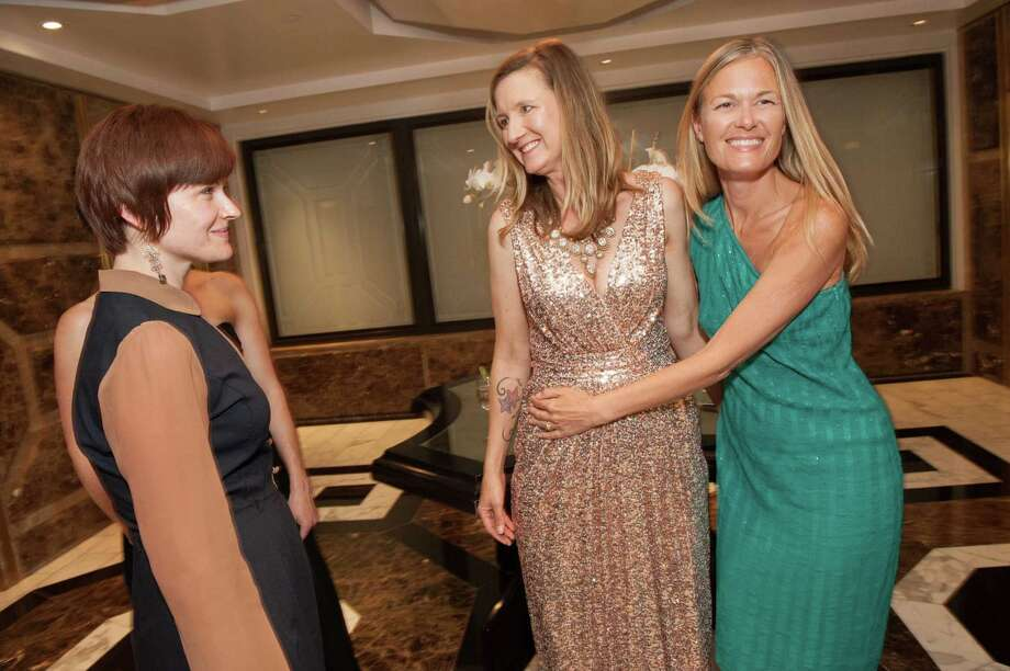 Raychel Hessler, Eva Holman and Heather Axtell at the Raphael House One Upon a Time Gala on May 2, 2014. Photo: Drew Altizer Photography/SFWIRE, Drew Altizer Photography / ©2014 by Drew Altizer, all rights reserved