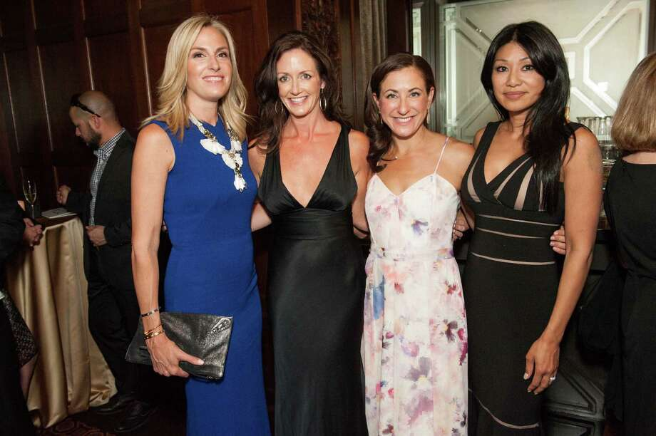 Libby Ornani, Sinead Broughton, Victoria Dade and Jessica Haze at the Raphael House One Upon a Time Gala on May 2, 2014. Photo: Drew Altizer Photography/SFWIRE, Drew Altizer Photography / ©2014 by Drew Altizer, all rights reserved