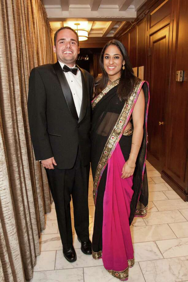 Jimmy SanMarco and Kaveri Gyanendra at the Raphael House One Upon a Time Gala on May 2, 2014. Photo: Drew Altizer Photography/SFWIRE, Drew Altizer Photography / ©2014 by Drew Altizer, all rights reserved