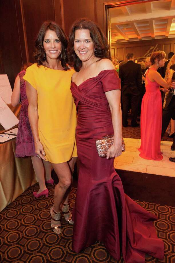 Diana Britt and Kendall Wilkinson at the Raphael House One Upon a Time Gala on May 2, 2014. Photo: Drew Altizer Photography/SFWIRE, Drew Altizer Photography / ©2014 by Drew Altizer, all rights reserved