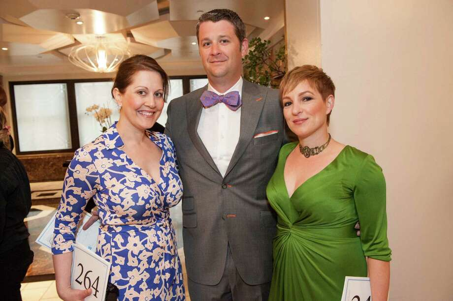 Amy Lebastchi, Matt Kehoe and Albina Kehoe at the Raphael House One Upon a Time Gala on May 2, 2014. Photo: Drew Altizer Photography/SFWIRE, Drew Altizer Photography / ©2014 by Drew Altizer, all rights reserved