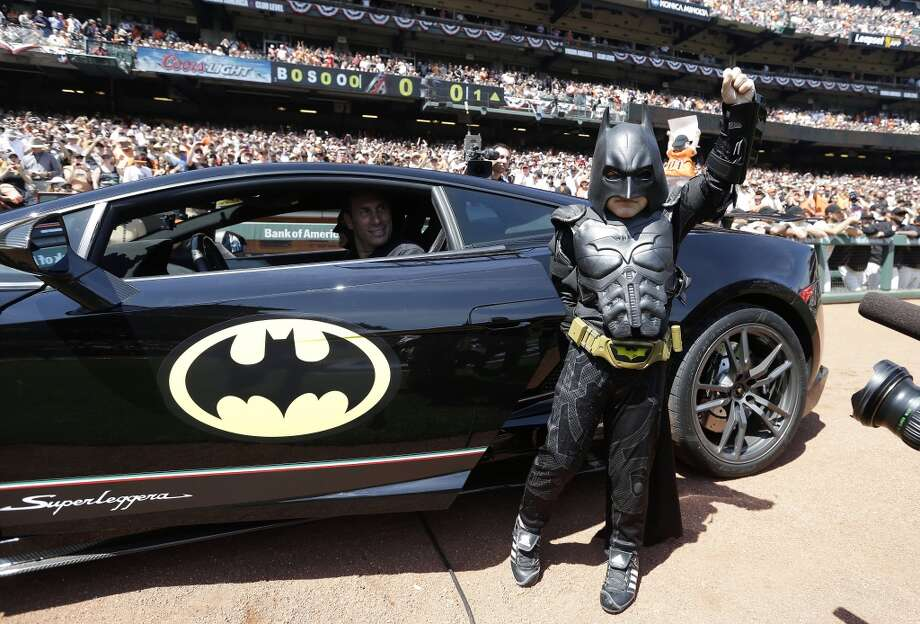 You can be everyone's favorite hero and dress like Batkid. Tricked out Lamborghini not included. Photo: Eric Risberg, Associated Press