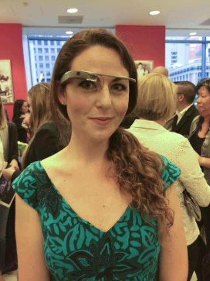 Make some sort of over-sized Google Glass costume (or tape an old cell phone to a pair of glasses). Tell people you experience emotional traumawhen you take it off. Photo: Yoni Mayeri, Special To The Chronicle