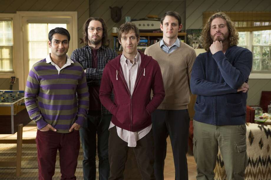 A simple costume for a group - be the characters from HBO's 'Silicon Valley.' Photo: Isabella Vosmikova, HBO