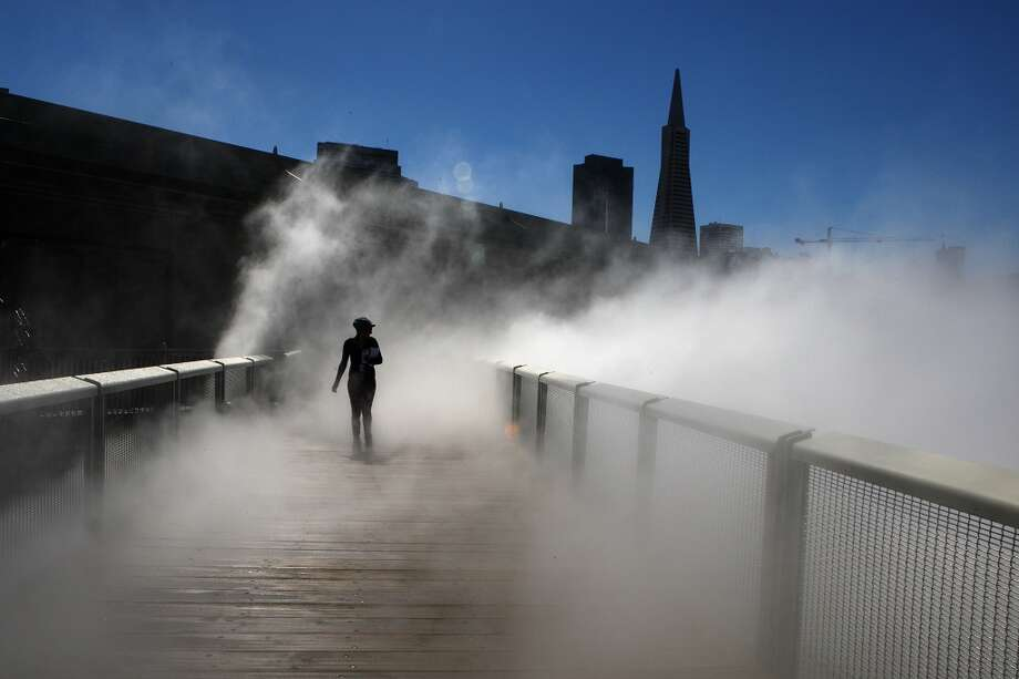 Finally, because San Francisco's fog never goes out of style, you can always dress up as Karl the Fog. Photo: Liz Hafalia, The Chronicle