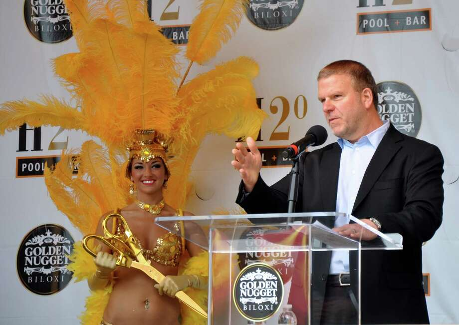 Tilman Fertitta opens his Golden Nugget Biloxi casino after a $100 million renovation. Photo: Melissa Ward Aguilar