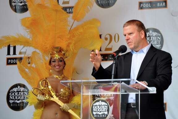 Tilman Fertitta opens his Golden Nugget Biloxi casino after a $100 million renovation.