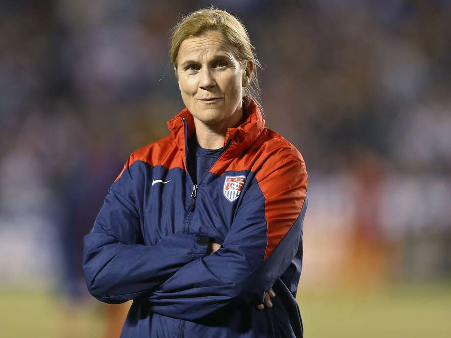 Jill Ellis had the interim tag removed from her title as U.S. women's head coach. Photo: Lenny Ignelzi, Associated Press