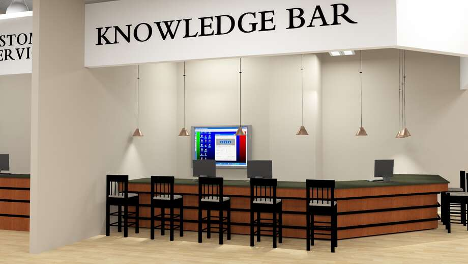 The new Micro Center at South Rice Boulevard and Westpark will have a Knowledge Bar for free walk-up technical support.
