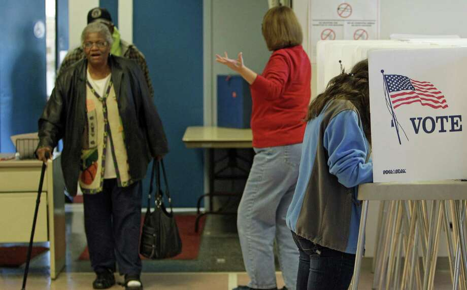 It's time to cast a vote in the May 27 runoff election. Early voting runs only Monday through Friday. Photo: Associated Press / AP