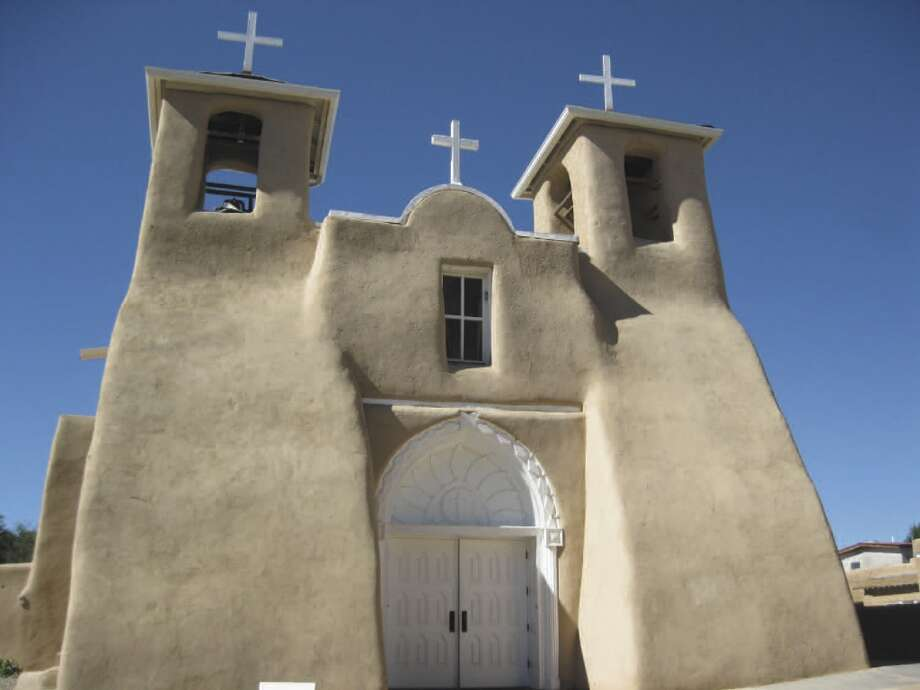 The San Francisco de Assisi Mission Church in Rancho de Taos, New Mexico, was completed in 1816. Photo: Michelle Newman, For The Express-News