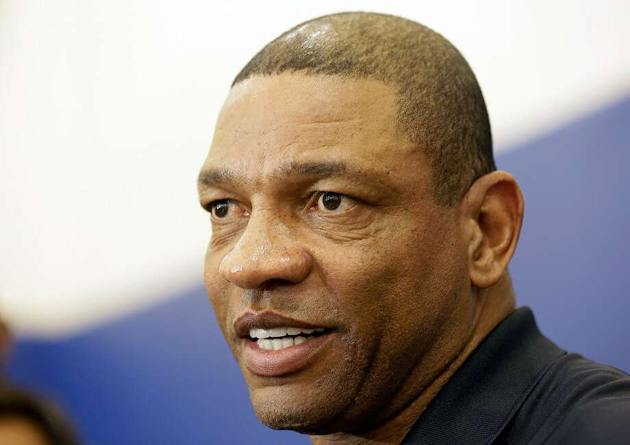 Clippers coach Doc Rivers said he plans to return after Thursday's loss. Photo: Damian Dovarganes, Associated Press