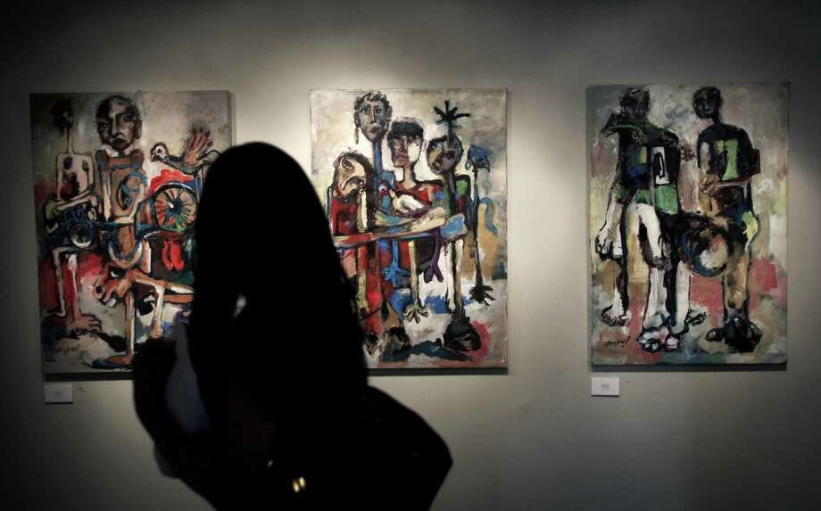 Stendhal SyndromeThis disorder typically occurs in young, to middle-aged, single men and women who rarely leave their homes. People who have this disorder experience extreme anxiety. dizziness, fainting and even hallucinations when exposed to art. Photo: Nasser Nasser, STF / AP