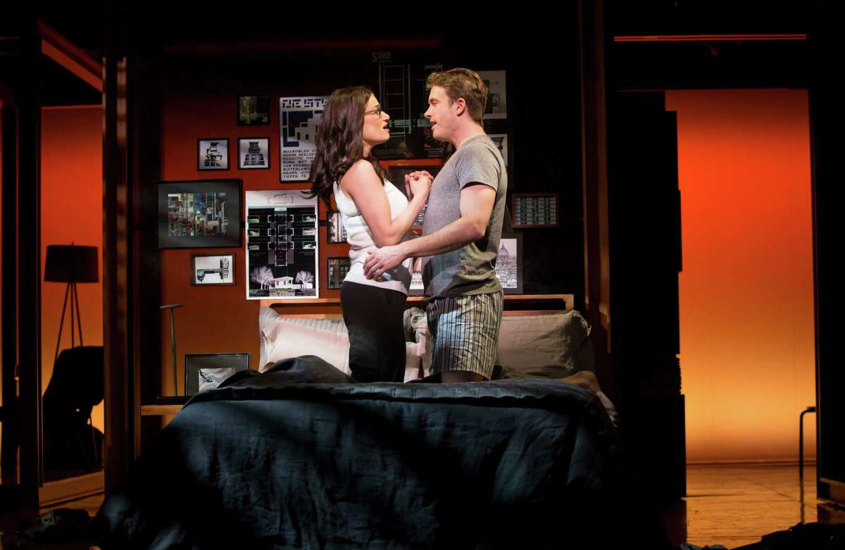 """Idina Menzel and James Snyder star in the musical """"If/Then."""" Idina Menzel and James Snyder star in the musical """"If/Then."""""""