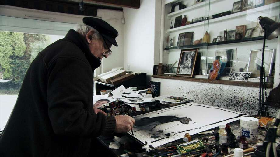 Photo 6 Ralph Steadman in For No Good Reason Photo by Charlie Paul, Courtesy of Sony Pictures Classics Photo: Charlie Paul, Sony Pictures