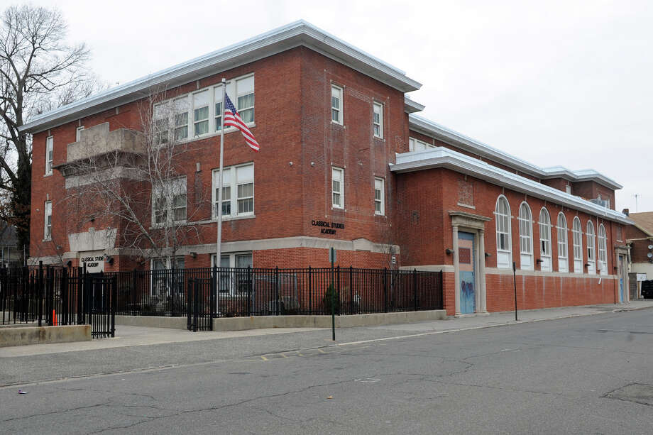 Classical Studies Academy (Maplewood), 240 Linwood Ave. in Bridgeport, Conn. Jan. 20. 2014. Photo: Ned Gerard / Connecticut Post