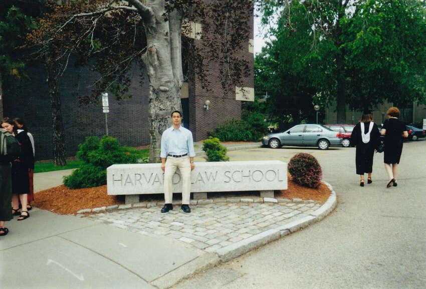 Future San Antonio Mayor Julián Castro is seen at Harvard Law School in this undated photo.
