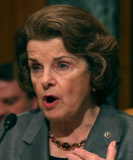 U.S. Sen. Dianne Feinstein has proposed drought legislation. Photo: Mark Wilson, Getty Images