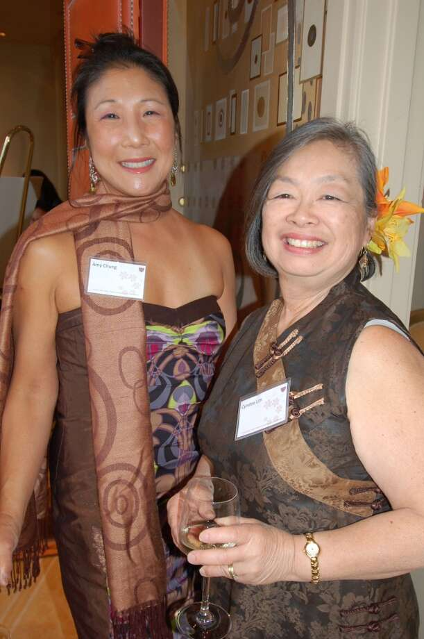 Amy Chung and Cyndee Lim  at the 2010 Five Star Aloha Gala. Photo: Jeanne Cooper, SFGate