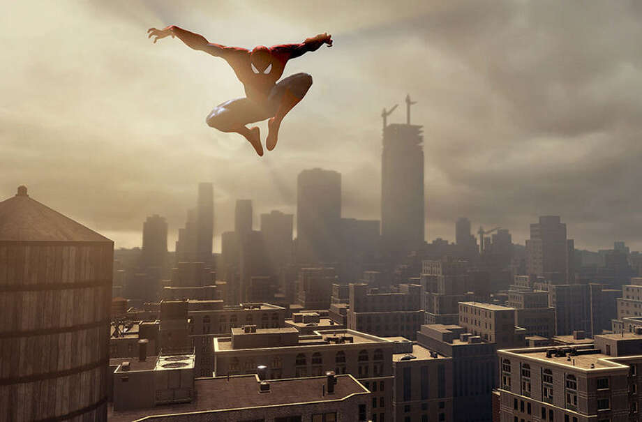 "The open-world Manhattan environment in ""The Amazing Spider-Man 2"" has been increased, leading to a wider area for Spidey's web-slinging navigation and exploration. Photo: Courtesy Images / Activision"