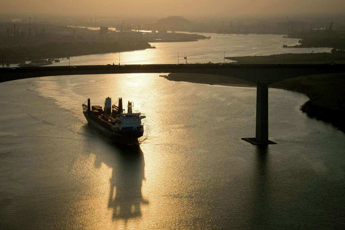 While many commuters know the Ship Channel only from the heights of the Beltway 8 bridge, the more important measurement is the waterway's depth, which is currently 45 feet to accommodate larger ships.