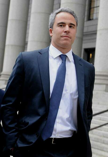 Michael Steinberg, a former fund manager with SAC Capital Advisors LP, exits federal court following a sentencing hearing in New York, U.S., on Friday, May 16, 2014. Steinberg was sentenced to 3 1/2 years in prison for insider trading, capping one of the biggest victories for prosecutors who spent seven years investigating the hedge fund and its boss, Steven A. Cohen. Photographer: Louis Lanzano/Bloomberg *** Local Caption *** Michael Steinberg Photo: Louis Lanzano / © 2014 Bloomberg Finance LP