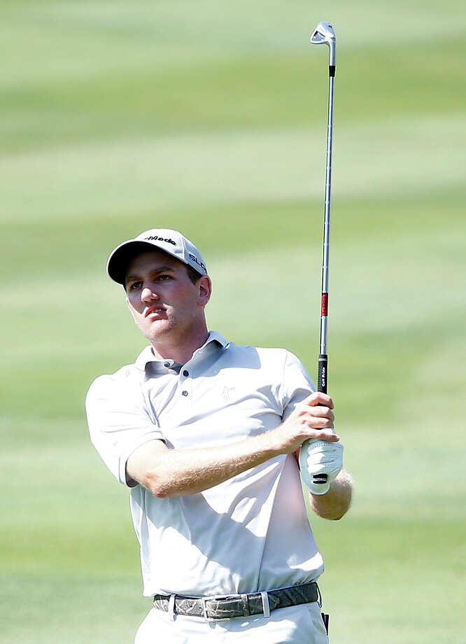 IRVING, TX - MAY 16:  Brendon Todd plays a shot on the 16th hole during the second round of the HP Byron Nelson Championship at the TPC Four Seasons Resort on May 16, 2014 in Irving, Texas.  (Photo by Sam Greenwood/Getty Images) ORG XMIT: 461727397 Photo: Sam Greenwood / 2014 Getty Images