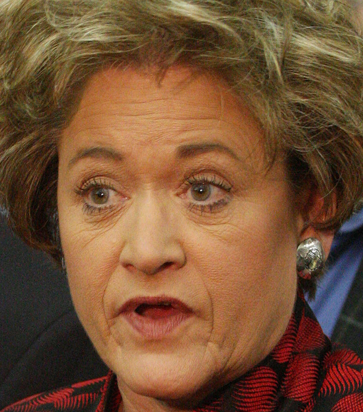 Travis County District Attorney Rosemary Lehmberg said Perry wanted her to resign after she was arrested for drunken driving last year.