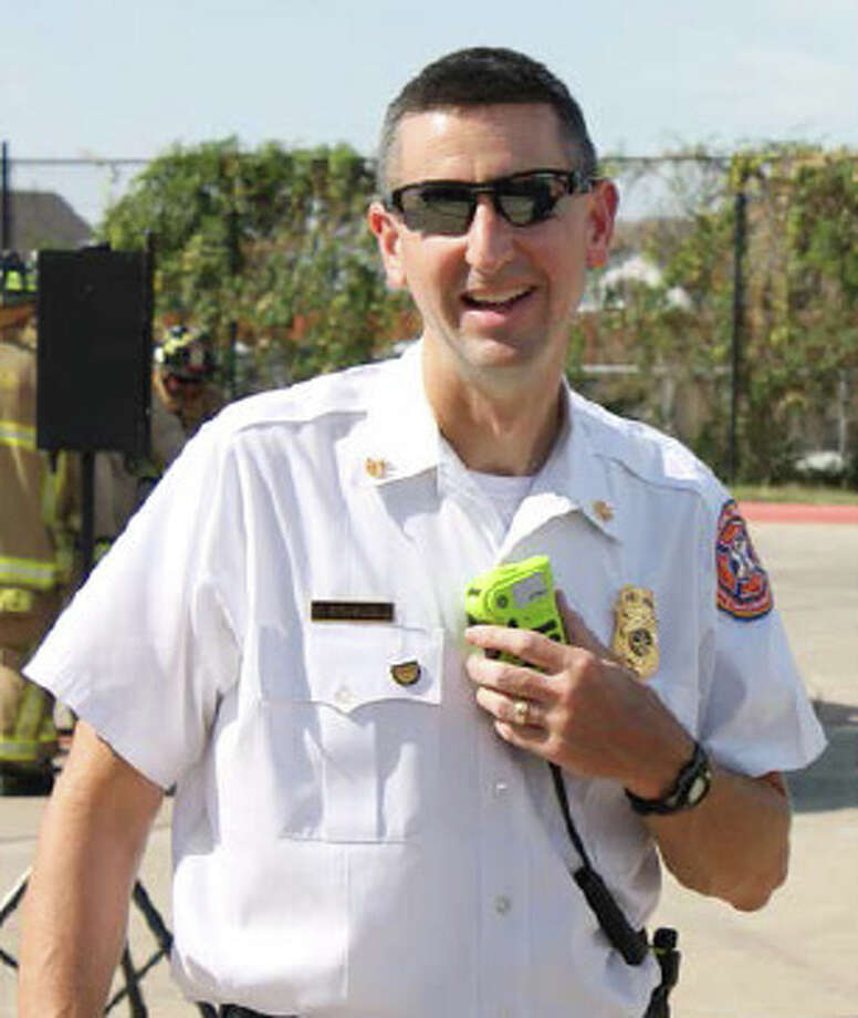 Firefighter W. Mark Braswell was 43. Photo: Cy-Fair Volunteer Fire Department