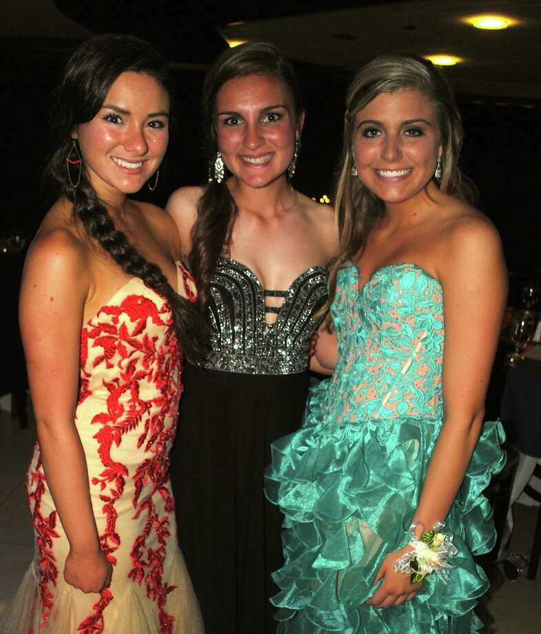 """Newtown High School seniors celebrated a """"starry night"""" during their prom held at the Matrix Center in Danbury. Were you SEEN? Photo: Wendy Mitchell"""
