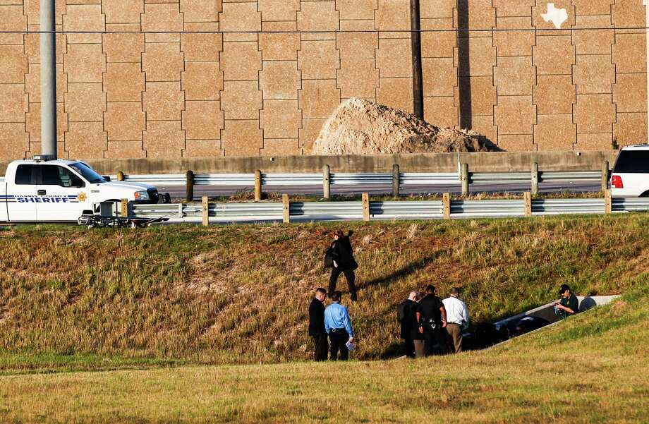 Early Saturday morning, a construction worker discovered a man's body floating in a concrete drainage culvert near the corner of westbound US-290 and Barker-Cypress, according to the Harris County Sheriff's Office. Photo: Johnny Hanson / Houston Chronicle