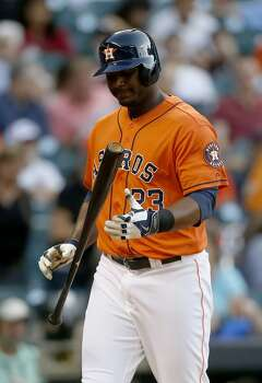 May 16: White Sox 7, Astros 2  An early lead is eliminated with one big blow from former nemesis and local product Adam Dunn as the Astros drop the series opener.  Record: 14-28. Photo: Karen Warren, Houston Chronicle