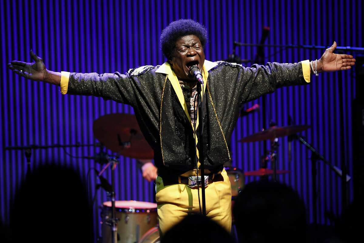 Charles Bradley performs during the SF Jazz Gala in San Francisco Calif. on Friday, May 16, 2014. Bradley, who once made a living impersonation James Brown, was recently discovered by Daptone and recorded his first album 'No Time for Dreaming' in 2011.