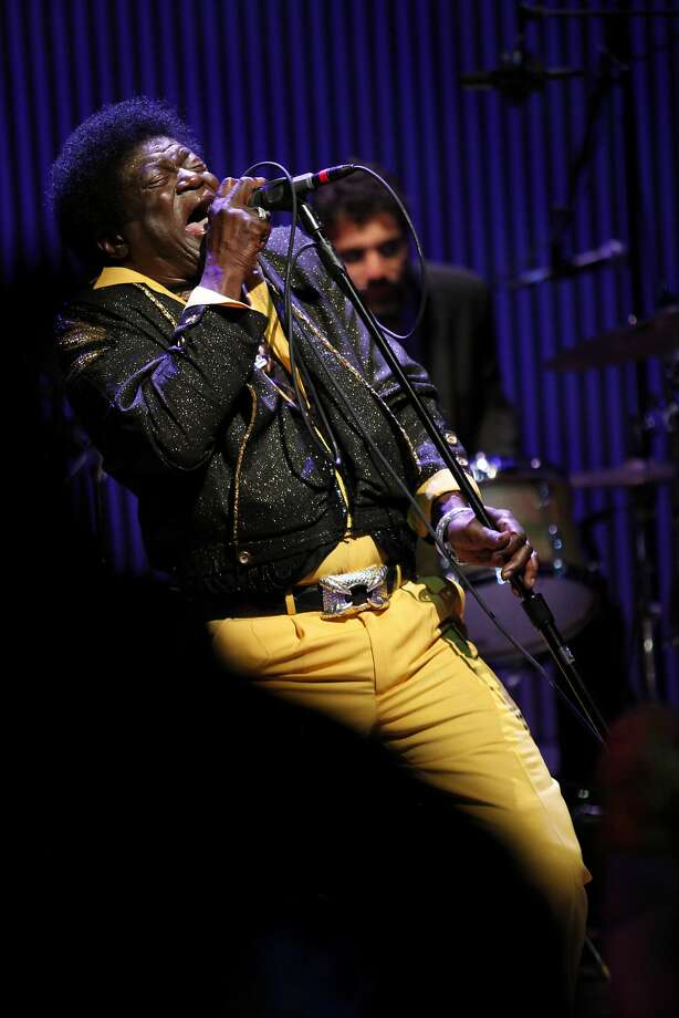 Funk/soul/ R&B singer Charles Bradley, known for his James Brown- infused style, provides the dance music late into the night at the SFJazz gala. Photo: Alex Washburn, Special To The Chronicle