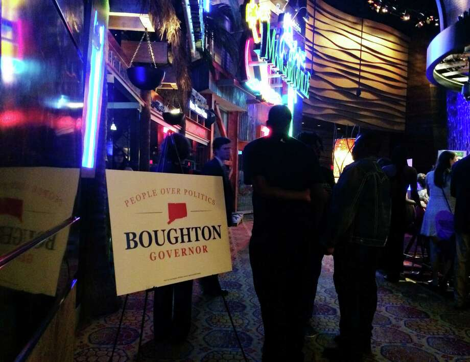 Danbury Mayor Mark Boughton threw a cocktail reception afterparty for the supporters in his quest for Governor at Margaritaville after Friday's session of the Connecticut Republican Convention at the Mohegan Sun in Uncasville, Conn. Friday, May 16, 2014. Photo: Tyler Sizemore / The News-Times
